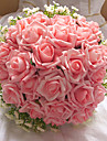 24 Heads Round Shape Wedding/Party Bridal Bouquet(More Colors)