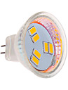 3W LED-spotlights MR11 6 SMD 5630 270 lm Varmvit / Kallvit DC 12 V