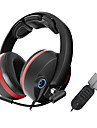 G989 Somic stereo Gaming USB 5.1 Channel Sound Over-Ear avec micro et telecommande pour PC