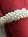 Forma brățară acrilic șervețele inel, Set Dia4.2-4,5 din 12, culoare aleatorii