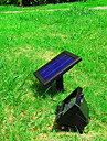 Solar Power Ultra Bright 30 LED Garden Flood Spot Light Lawn Cool White Lamp (CIS-57258)