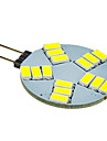 5W G4 LED-spotlights 15 SMD 5630 330 lm Kallvit DC 12 V