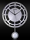 "14 ""M Style mecanique Horloge murale avec pendule"