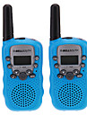 "Par i T-388 Lovers Talking Mini 8 KM Handheld 1 ""LCD-skärm Walkie Talkie Två Way Radio med ficklampa"