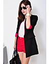 Coree Noir Style de CHAOLIU femmes Color Block Slim Fit Suit