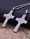 Personlig gåva-Guld-Rostfritt stål-Dekorativa Halsband- tillUnisex