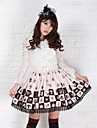 Kaffe Pretty Lolita Ailce Chess Princess Kawaii Skirt Lovely