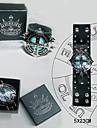Smycken Inspirerad av Reborn! Tsunayoshi Sawada Animé Cosplay Accessoarer Armband Svart / Blå PU Läder Man
