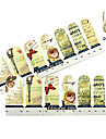 4x7PCS Grace Nostalgie van Paris Nail Art Stickers