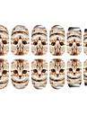 12st Cat Pattern Luminous nagel konst Stickers