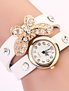 Koshi 2014 Kvinnors Bow Diamonade 2 Round Watch (Vit)