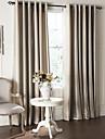(deux panneaux) moderne minimaliste bande jacquard rideau occultant