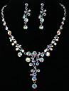 Set bijuterii Pentru femei Aniversare / Nuntă / Logodnă / Zi de Naștere / Cadou / Petrecere / Zilnic / Ocazie specială Set Bijuterii