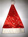 Chapeau Costumes de pere noel Fete / Celebration Deguisement Halloween Rouge / Blanc Chapeau Noel Velours
