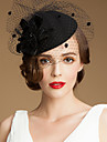 Women\'s Tulle Wool Headpiece-Wedding Special Occasion Casual Outdoor Hats