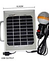 36-LED White Light 2W solpaneler Solar mobiltelefon laddare Belysning Portable System