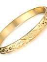 Dame Brățări Bantă Placat Auriu Cowry 18K de aur Design Unic La modă Bijuterii Auriu Bijuterii 1 buc
