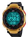 Da uomo Guarda Digitale Orologio sportivo LED / LCD / Calendario / Cronografo / Resistente all\acqua / allarme Gomma BandaOrologio da