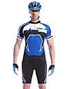 MYSENLAN® Cykeltröja med shorts Herr Kort ärm Cykel Andningsfunktion / Snabb tork / Bärbar Klädesset/Kostymer Bomull / 100% Polyester
