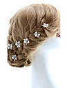Two Pieces Alloy Wedding/Special Occasion Hairpins With Imitation Pearls