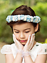 Women\'s / Flower Girl\'s Satin / Paper Headpiece-Wedding / Special Occasion / Outdoor Flowers