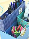 Creative Design Papper Multifunktions Storage Box (Random färg)