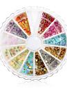 Mixs Style Heart Flower Star Glitter Nail Art Decorations(Random Color)