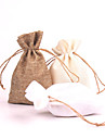 Linen Favor Bags - Set of 12(More Colors)