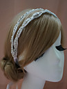 Femme Strass Casque-Mariage / Occasion speciale Serre-tete Clair