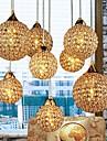 Max 40W Lampe suspendue ,  Contemporain / Globe Plaque Fonctionnalite for Cristal Metal Chambre a coucher / Salle a manger / Couloir
