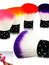 1PCS Depoussierage coloree Brosse Maquillage Nail Art outil esthetique (couleur aleatoire)