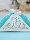 12 Piece/Set Favor Holder-Pyramid Card Paper Favor Boxes Non-personalised