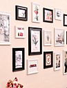 Foto Wall Frame Collection Set med 16