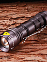 Lights LED Flashlights/Torch / Handheld Flashlights/Torch LED 800 Lumens 5 Mode Cree XR-E Q5 14500 Adjustable Focus / Waterproof
