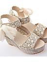 Zikafo New femmes d\'ete simple Sweety Slipsole Peep-Toe Platform Sandles Chaussures