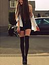 Women\'s Sexy Black Simple Pantyhose