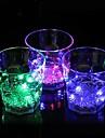 Coway baren dedikerad Ijusemitterande ledde natt åttkantiga glas