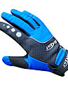 NUCKILY Vattentät Vindtät Slide-Proof Thermal Blue cykelhandskar