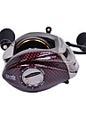 TS1200 Left Handle 13+1 Ball Bearing Red Fishing Reel