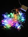 5M 40-LED-uri multicolore Butterfly Light String petrecerea de nunta de Craciun Lampa (AC220V)