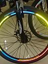 YELVQI Cykel Cykel Reflekterande klistermärken