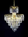 sl® europeisk stil lyx 6 lampor ljuskronan i kronan form