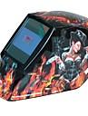 sol auto mörknande filter tig / MIG / MMA svetshjälm med sexig mönster 4 bågsensor