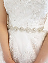 Satin Wedding/Party/ Evening Sash - Rhinestone Women\'s Sashes