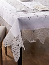 1 Melange Lin/Coton Carre Nappes de table