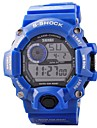 Da uomo Guarda Quarzo giapponese Orologio sportivo LED / Calendario / Cronografo / Resistente all\acqua PU Banda