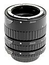 aluminiumlegering 3-piece makro förlängningsrör set för Nikon (silver)
