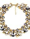 Women\'s Ethnic Alloy Diamond Necklace