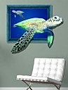 3D havssköldpaddor Wall Stickers väggdekaler