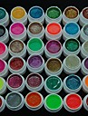36pcs glitter kracht polish kleur uv gel